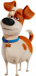 MAX Of The SECRET LIFE OF PETS Terrier Mix puppy dog - WindoCling Sticker Decal
