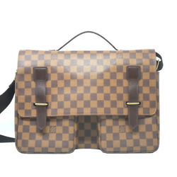 Louis Vuitton Broadway Damier Ebene Cross Body Messenger Bag