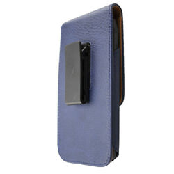 caseroxx Doro 540X Premium Case Outdoor Case in blue made of real leather  with