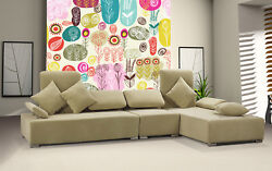 3d Floral Hand Painted 452 Wall Paper Wall Print Decal Wall Deco Indoor Mural