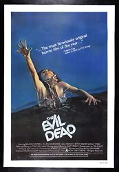 The Evil Dead ✯ Cinemasterpieces 1981 Monster Zombie Scary Horror Movie Poster