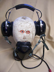 David Clark Hsc-61c Headset W/over-the-mouth Mic Pilot Aviation