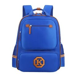 (Small Blue) - Uniuooi Primary School Backpack Book Bag for Boys Girls 5-7