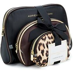 Adrienne Cosmetic Bags Vittadini Makeup Bags: Compact Travel Toiletry Set Small