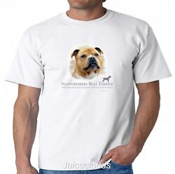 Staffordshire Bull Terrier T-Shirt Puppy Pet Rescue Dog Owner Men's Tee