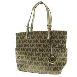Michael Kors   tote bag Logo design canvas
