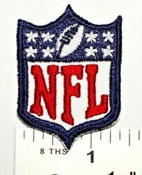 NFL Mini very small Logo Embroidered Iron on Patch Free Shipping $3.50