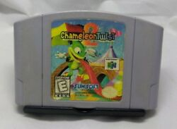 Chameleon Twist 2 (Nintendo 64) tested  works  genuine
