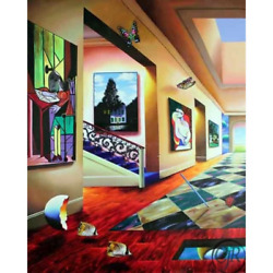 Ferjo    Perfect Afternoon Left   Giclee On Canvas