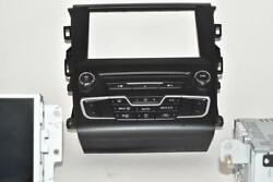 2016 FORD FUSION NAVIGATION CLIMATE CONTROL BEZEL & DISPLAY UNIT G57T-18E245-ADB