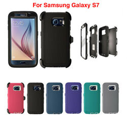 For Samsung Galaxy S7 Defender Case W/ Clip Fits Otterbox And Screen Protector