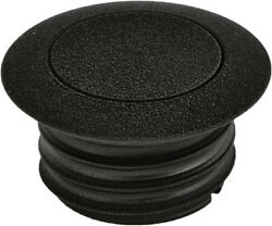 Harddrive 03-0328b-a Pop-up Screw In Smooth Vented Gas Cap Wrinkle Black