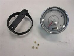 Faria Tdh221a Oversized Tachometer W/digital Hour Meter Silver Face Marine Boat
