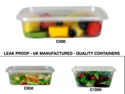 Pink Apple Plastic Containers Tubs And Lids Microwave Freezer Food Safe Takeaway