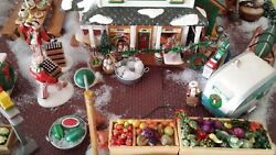 Huge Department 56 Snow Village Lot Priced To Sell