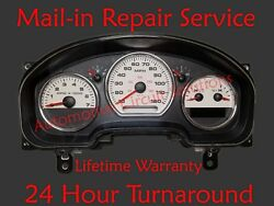 04-08 Ford F150 King Ranch Dash Instrument Gauge Cluster Display Repair Service