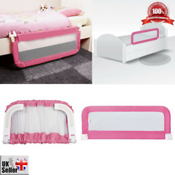 Safety 1st Portable Bed Rail Pink Prevents Child Baby From Falling Compact Fold