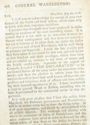 1795 Letters George Washington Declaration Independence Delaware Crossing Boston