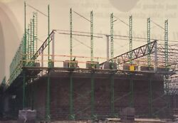 BEAST INDUSTRIAL  CONSTRUCTION STAGE  SCAFFOLD  200 FT LONG 4 STORY