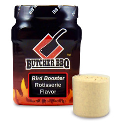 Butcher Bbq Barbecue Pitmasters Bird Booster Rotisserie Injection - 12 Oz
