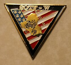Op Inherent Resolve Special Operations Sotf-w Navy Seals Challenge Coin / Isis 2