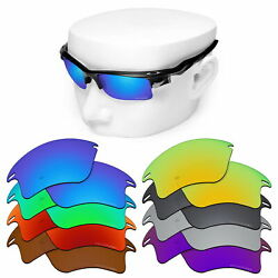 OOWLIT Replacement Lenses for-Oakley Fast Jacket XL Sunglasses Polarized Etched
