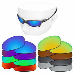 OOWLIT Replacement Lenses for-Oakley Juliet Sunglasses Polarized Etched