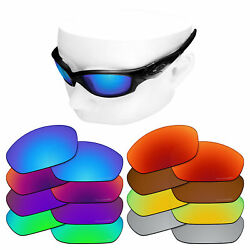 OOWLIT Replacement Lenses for-Oakley Straight Jacket 2007 Polarized Etched