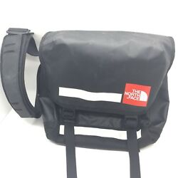 The North Face Black Red Messenger Bag Cycling School Pack Travel Camping