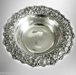S Kirk And Son Large American Sterling Silver Deep Bowl