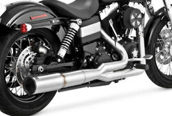 Vance & Hines Hi-Output 2 Into 1 Full Exhaust System For Harley-Davidson Dyna