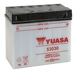 Yuasa 53030 Bmw R100gs Pd R Rs Rt And03987-and03995 Conventional Yumicron 12v Battery