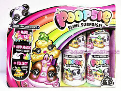 Mga Poopsie Slime Surprise Unicorn Poop Mystery Pack Complete Case Of 16 New