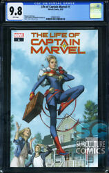 Life Of Captain Marvel 1 - First Print - Marvel Comics - Cgc 9.8 - Sold Out