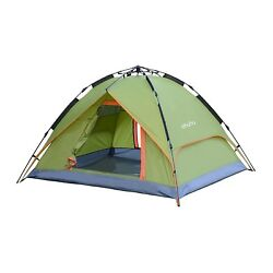 Ohuhu 3 Person Tent with Carry Bag - Windproof Waterproof and UV-proof Beach