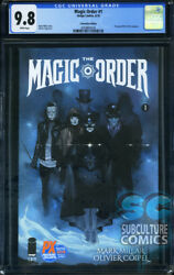 Magic Order 1 Sdcc 2018 Variant - First Print - Image Comics - Cgc 9.8 - 2000
