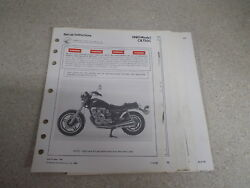 OEM Honda Set Up Instructions 1980 CB750C 39 Pgs Date of Issue 1/80