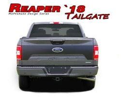 Tailgate Blackout Vinyl Graphic Inlay Decals 3m Pro Stripes Ford F-150 2018-2020