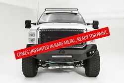 Fab Fours Fs11-v2551-b Bare Vengeance Front Bumper For 11-16 Ford F250/f350 Sd