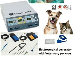 Electro Surgical Generator With Veterinary Package Shalya 250w Veterinary Unit