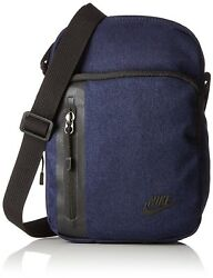 (One Size NavyBlack) - Nike Men's Core Small Items 3.0 Shoulder Bag