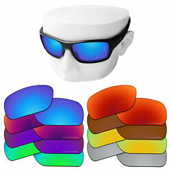 OOWLIT Replacement Lenses for-Oakley Turbine Sunglasses Polarized Etched
