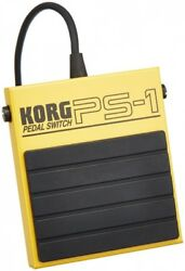 KORG PS-1 Single Momentary Pedal Footswitch for MIDI Keyboard. Shipping Included