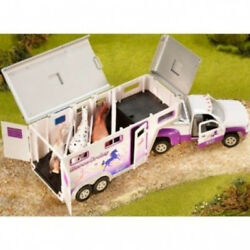 Breyer 1:32 Stablemates Horse Crazy Truck and Trailer Model. Delivery is Free