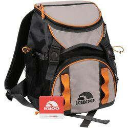 Igloo Backpack Cooler Hiking Camping Beach Park Lake River Drinks Cold New