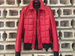 Collectorandgorgeous Dior Homme Hedi Slimane Aw05 Quilted Leather Jacket Prototype