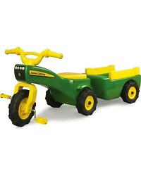 Kids Riding Toys Toddler Ride On Toy Pedal Tractors For Children With Trailer