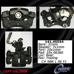 Centric Parts 141.45553 Rear Right Rebuilt Brake Caliper With Hardware