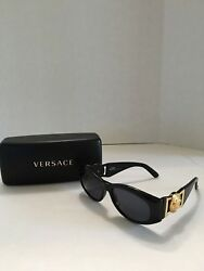 Gianni Versace Sunglasses MOD 424 COL 852 BK Made In Italy Case Included