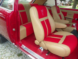 Pontiac Gto Interior Kit 64-74 Bucket Front Seats And Rear Bench Seat Upholstery
